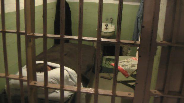 Alcatraz jail cell