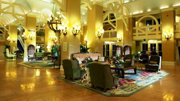 Disney Beach club resort lobby