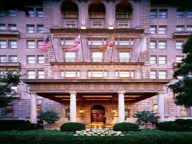 Hay Adams Hotel Exterior