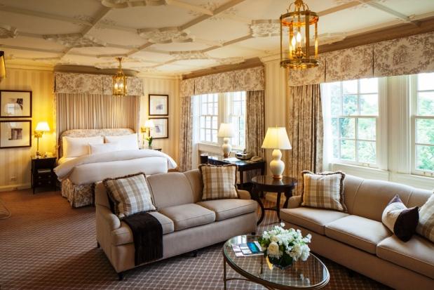 Hay Adams Hotel guest rooms