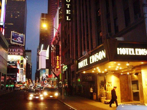 Hotel Edison NYC exterior