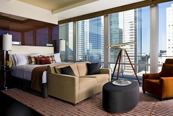 The Joule guest rooms