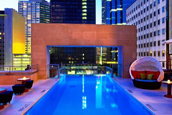 The Joule hotel pool
