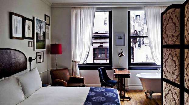 The Nomad Hotel guest rooms