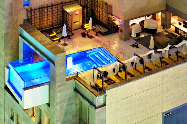 the joule pool exterior