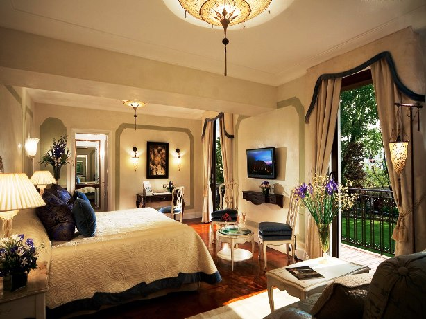 Hotel Cipriani guest rooms