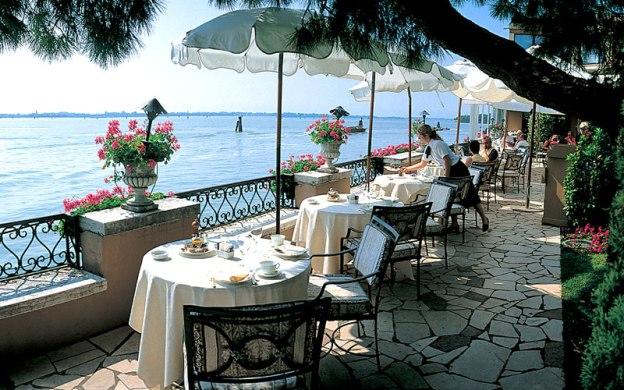 Hotel Cipriani veranda