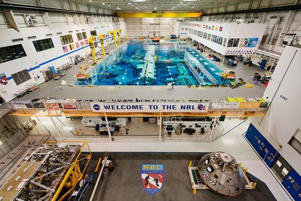 Houston Space Center pool