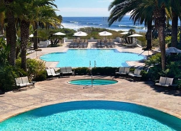 The Bacara Resort and Spa pool