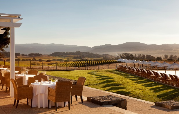 The Carneros Inn Vineyard views