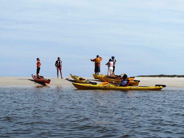 Amelia Island kayak