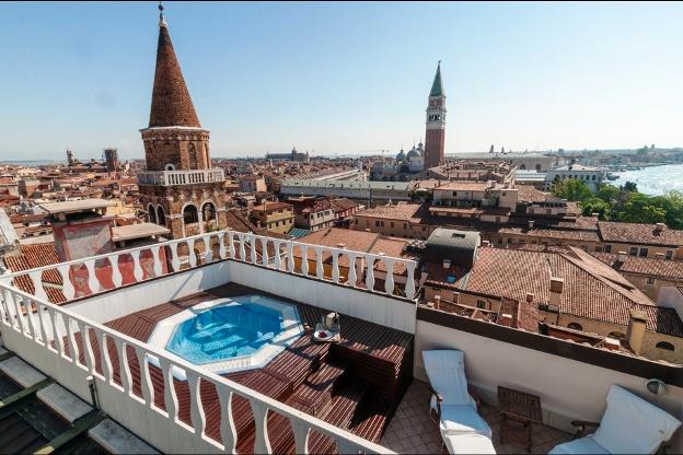 Bauer Il Palazzo Venice, Italy Spa room