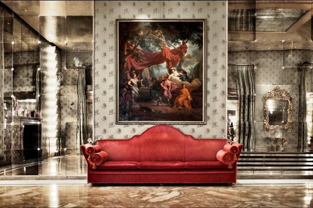 Bauer Il Palazzo Venice, Italy lobby
