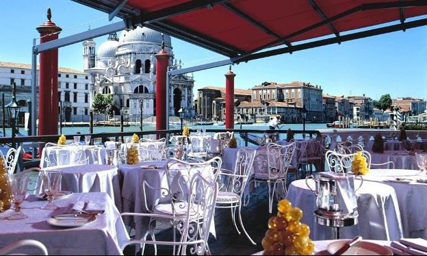 Bauer Il Palazzo Venice, Italy outdoor dining