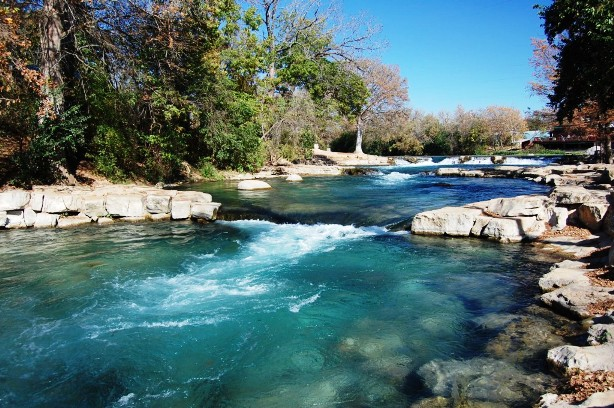Texas hill country river
