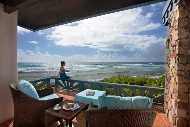 Biras Creek Resort Ocean Suite Outdoor Terrace