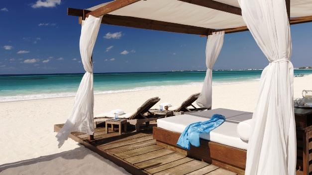Ritz Grand Cayman beach