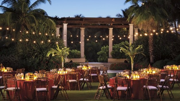 Ritz Grand Cayman outdoor dining