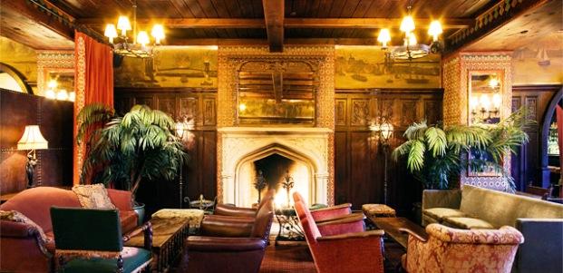 The Bowery Hotel lobby