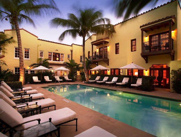 The Brazilian Court Hotel Pool