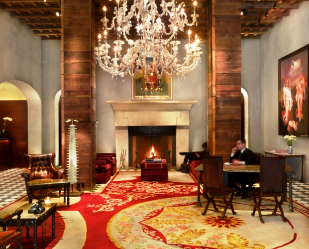 The Gramercy Hotel lobby
