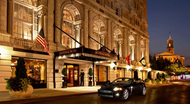 The Hermitage Hotel Nashville Tennessee