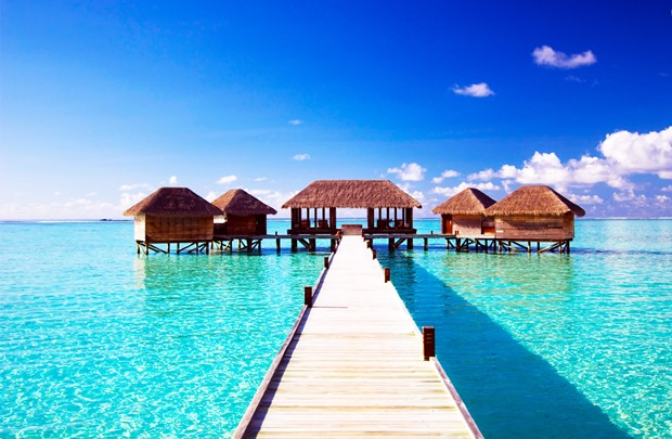 maldives dock