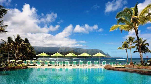 St. Regis Princeville Kauai pool ocean view