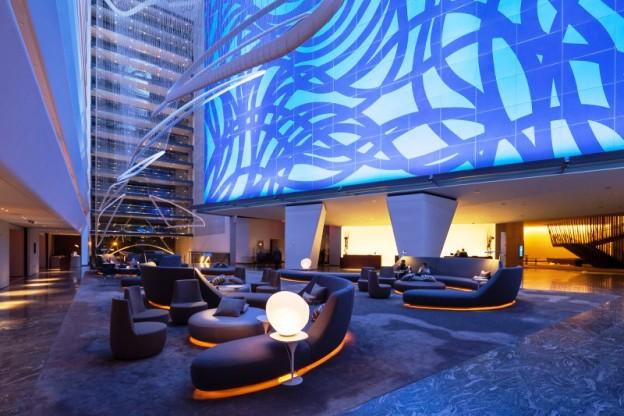 The Conrad New York Hotel lobby