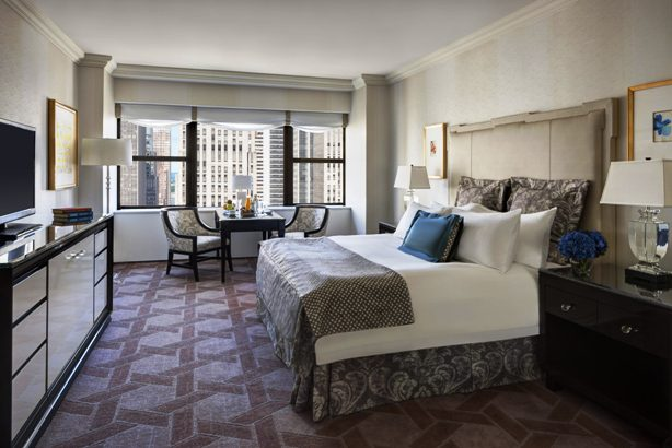 The New York Palace Hotel guest rooms