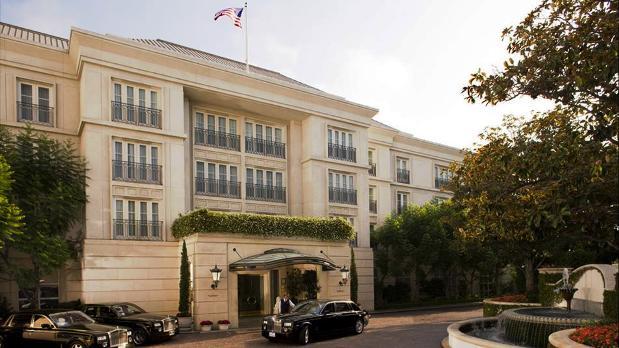 The Peninsula Beverly Hills exterior