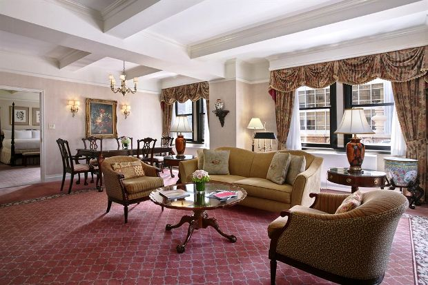 The Warwick Hotel Guest Suite
