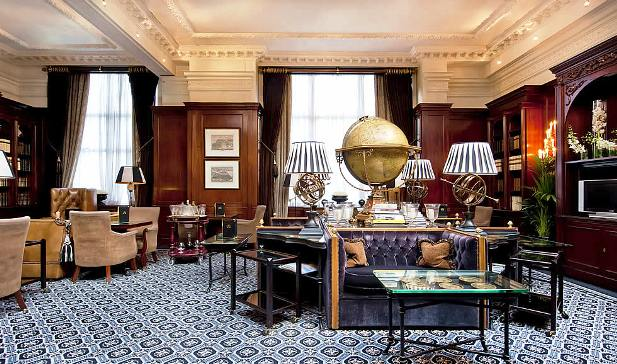 41 Hotel executive lounge