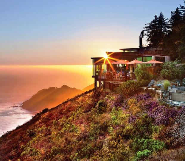 Post Ranch Inn Big Sur California outdoor view
