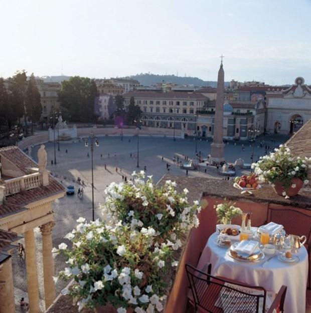 Rocco Forte Hotel de Russie suite view