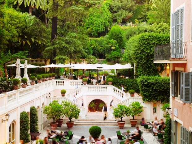 Rocco Forte Hotel de Russie the secret terrace
