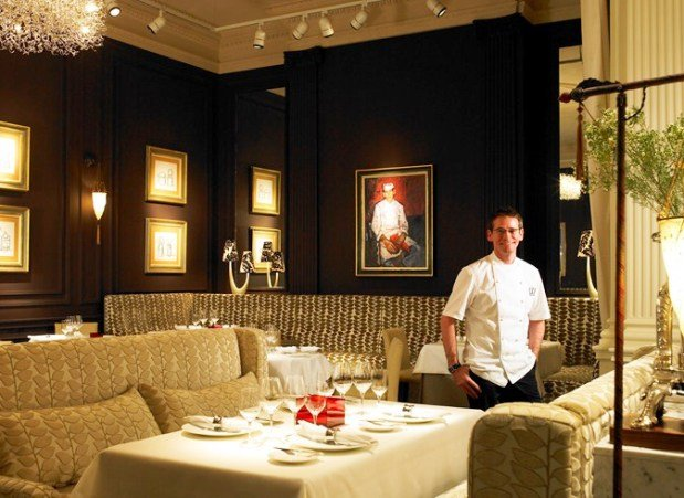The Gleneagles Hotel dining room