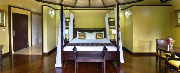 The Nayara Hotel Spa and Garden guest rooms