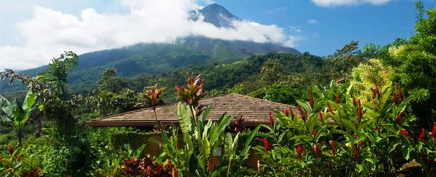 The Nayara Hotel Spa and Garden mountain views