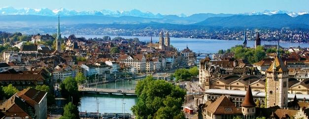 Baur au Lac Hotel  city of Zurich