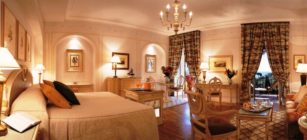 Hotel Splendido guest room