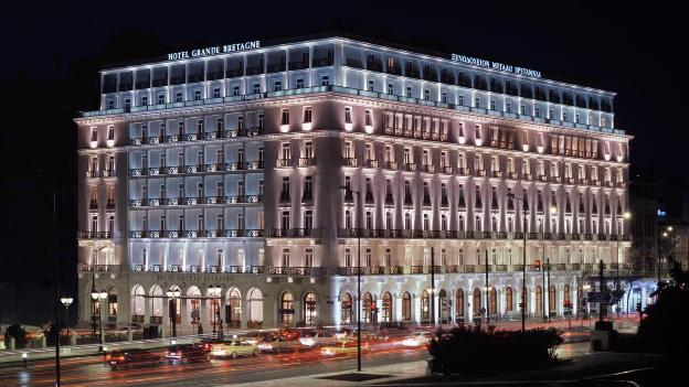 Hotel grande bretagne athens historic building