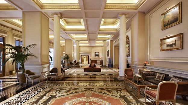 Hotel grande bretagne athens lobby