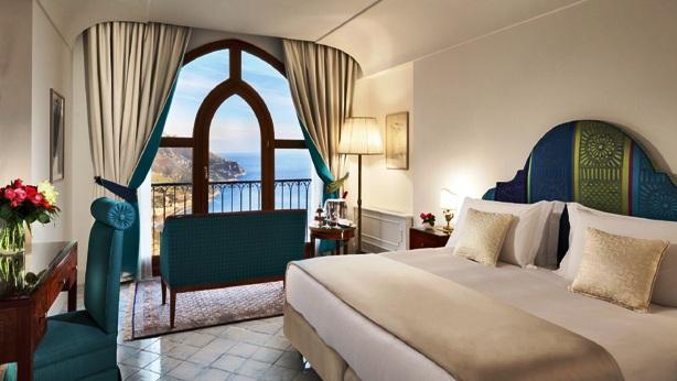 Pallazzo Avino king-sea view room