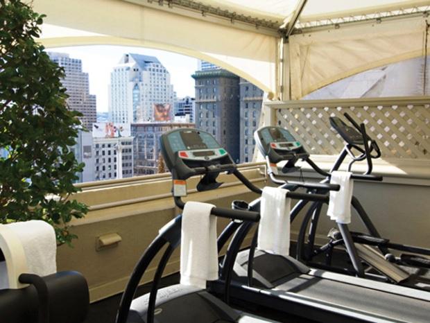 Taj Campton Place Fitness Room