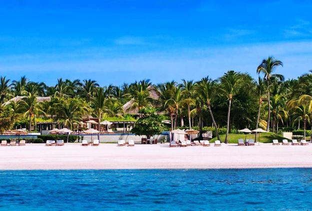 The St. Regis Punta Mita Resort beach