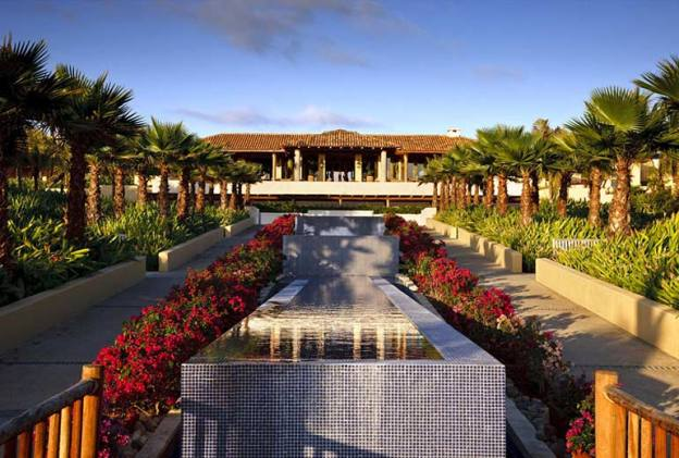 The St. Regis Punta Mita Resort entrance