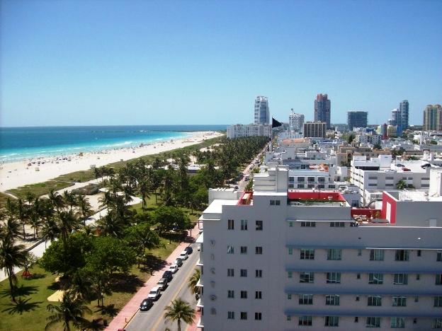 Tide South Beach Terrace View