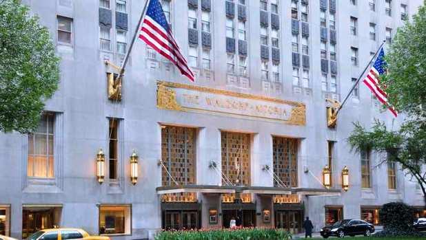 Waldorf Astoria exterior