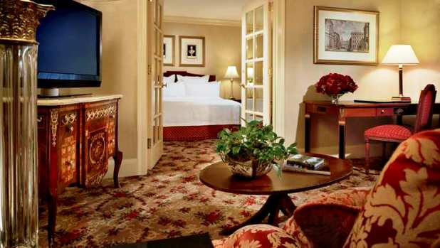 Waldorf Astoria guest suite